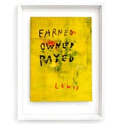 Image of EARNED OWNED PAYED