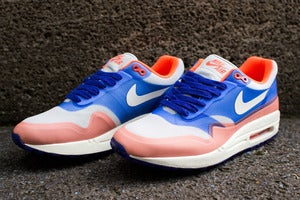 Image of Nike - WMNS Air Max 1 HYP PRM (blue/crimson)