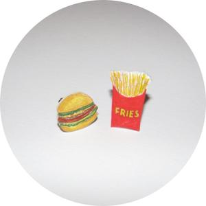 Image of Collar Adornments: Fast Food