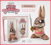 Image of JLED Pirate Chaos Bunny - Joe Ledbetter x The Loyal Subjects Pre Order