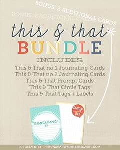 Image of *NEW* This & That Bundle (Digital)