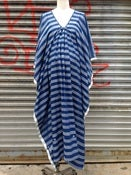 Image of Two Khadi Indigo Caftan