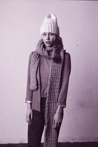 "Image of DIY elora toque ""gnd knitting kits"" w/ fair trade south american wool"