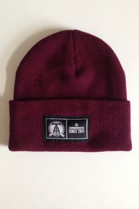 Image of Thunderwolves Beanie Burgundy