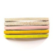 Image of Skinny Barrette - Harlequin and friends
