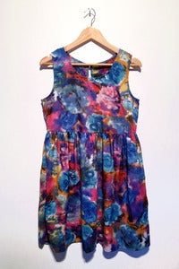 Image of gouache floral print dress