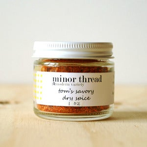 Image of Savory Dry Spice Seasoning Blend - 3 Jars - Wholesale Package