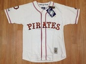 Image of Vintage Pittsburgh Pirates Starter Old Timers Coopertown Baseball Jersey