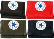 Image of Converse - Pro Game Wallet - Style #410334 - Velcro Tri-Fold Nylon Wallet  