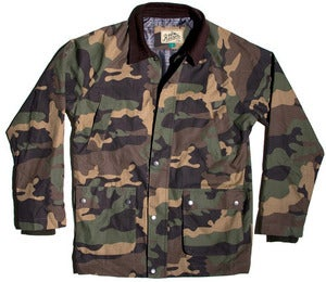 Image of Reason Clothing - Woodland Camo Hunting Jacket