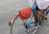 Image of Bicycle Purse-Rust