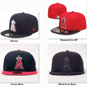 Image of New Era 59FIFTY - Anaheim Angels - MLB Baseball Hat Cap