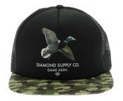 Image of NEW! Diamond Supply Co. Game Assn CAMO Snapback Hat