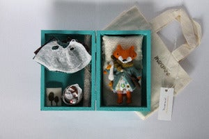 Image of Mini fox set Moni