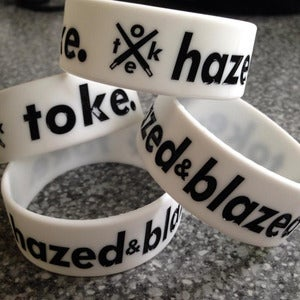 Image of Toke - Hazed & Blazed - Wrist Bands