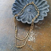 Image of Keranga wrap necklace