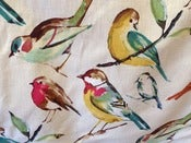 Image of Water Colored Bird Pillow Overs