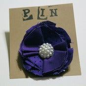 Image of Purple Pearl Cluster Sweater Pin (medium)