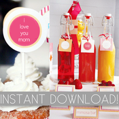 Image of Mother's Day Party Printables