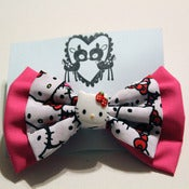 Image of Layered Kitty Bow (Large)
