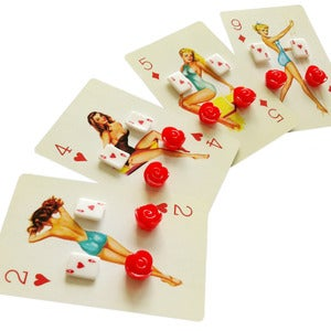 Image of Poker Pin-Up Earrings