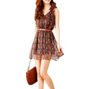 Image of Floral Sun Dress
