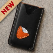 Image of iPhone5 / Guitar Pick Leather Case