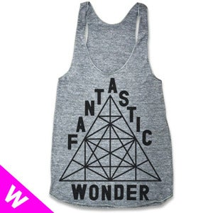 Image of RE-RELEASE! FANTASTIC WONDER (WOMEN RACERBACK)