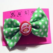 Image of Strawberry Shortcake Bow (small)