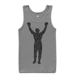 Image of Rocky Statue Tank-Top (Grey)