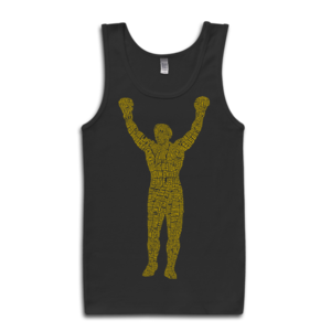 Image of Rocky Statue Tank-Top (Black)