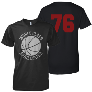 Image of World Class Basketball Tee (Black)