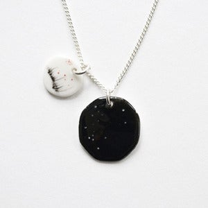 Image of midnight and miday pendant
