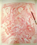 "Image of BLACK DAHLIA MURDER: ""Control"" original pencils"