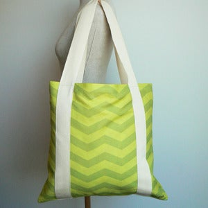 Image of Tote Bag - Zesty Lime (free shipping)