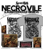 Image of NECROVILE - Slaughterhouse Nemesis - CD/TS deal