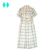 Image of GILLIAN &lt;span class=&quot;smallTit&quot;&gt; Check Shirt Dress &lt;/span&gt;