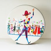 View vintage costume party toffee tin RESERVED