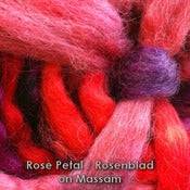 Image of &quot;Rose Petal&quot; wool-wheel