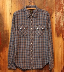 Image of Lee 101 Rider Shirt Blue Shade