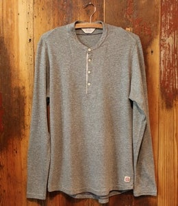 Image of Lee 101 Henley Dark Grey Mele