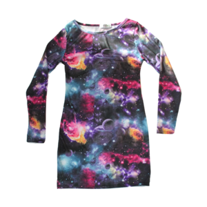 Image of Galaxy Bodycon Dress