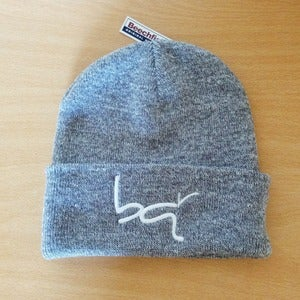 Image of BQR Beanie - Heather Grey