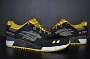 "Image of VNDS Asics Gel Lyte ""Black/Yellow"" III"