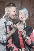 Image of Jeffree Star - Jeffree & Aaron Limited Edition Metallic 8x12 1/20