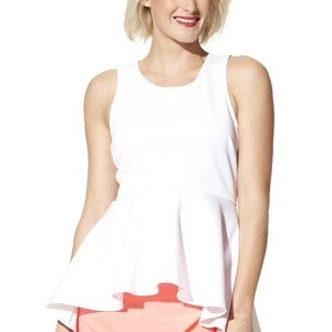 Image of Labworks for Target Peplum Top