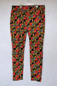 Image of New Directions Floral Jeans