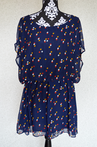 Image of Chiffon Printed Tunic/Dress