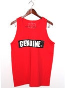 Genuine By Anthony Red Tank Top
