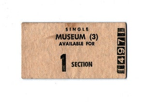 Image of Museum Greeting Card &amp; Envelope